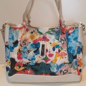Sharif floral purse